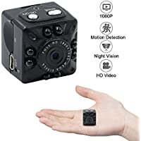 Mini Spy Camera, ZTCOO HD 1080P Portable Camera Small DV Camera Support Night Vision / Motion Detecion for Home / Office Surveillance Nanny Cam