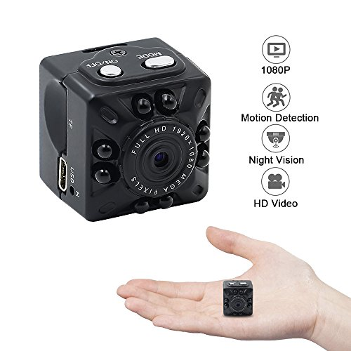 ZTCOO Mini Camera Small Camera 1080P/720P HD Portable Sports Camera with Infrared IR Night Vision, Motion Detection HD Home Surveillance Camera Nanny Cam for Indoor and (Red Contact Lenses For Sale)