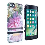 Official Ted Baker Soft-Feel Hard Shell or iPhone 7 / 6S / 6 cases - New fation branded LINORA case for women -PAINTED POSIE