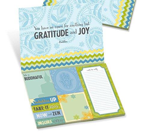 Grasslands Road Zen Sticky Note Paper Portfolio, 7-Inch