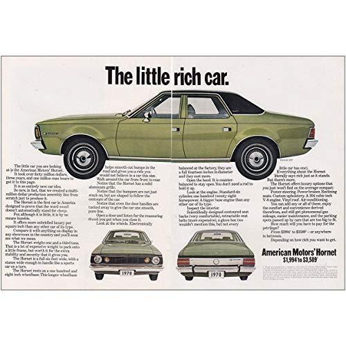 RelicPaper 1969 American Motors Hornet: Little Rich Car, American Motors Print Ad