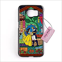 outlet store b20b0 9a934 Galaxy S6 Edge case, Pink Peri™ Beauty and the Beast Hard Phone Case ...