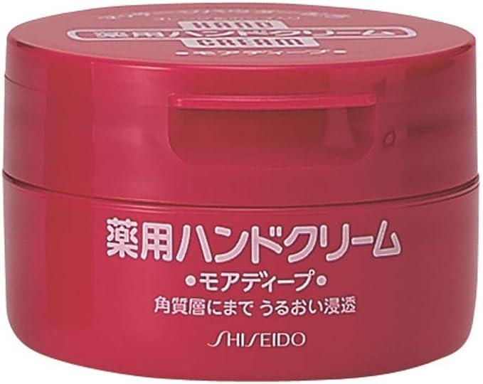 資生堂 ハンドクリーム 薬用モアディープジャータイプ