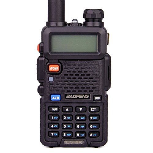 BaoFeng UV 5R Dual Band Two Way Radio (Black)