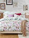 ZQ Personality style Simple Elegant, High-end Full Cotton Reactive Printing Pattern Cartoon Bedding Set 4PC, Queen/ Full Size Quality Goods , queen