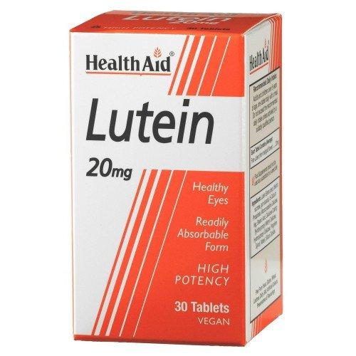 (6 PACK) - HealthAid - Lutein 20mg | 30's | 6 PACK BUNDLE by Health Aid