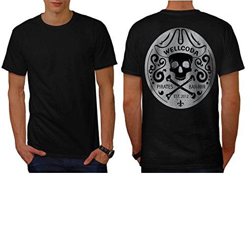 [Apparel Pirate Bar Costume Hat Men NEW S T-shirt Back | Wellcoda] (Pregnant Basketball Costume)