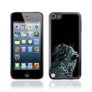 CQ Tech Phone Accessory: Carcasa Trasera Rigida Aluminio Para Apple iPod Touch 5 - Cool Snow Leopard Painting