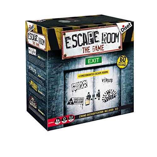 Diset Juego Escape Room Habilidad Estrategia Miscelanea 62304