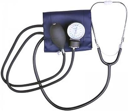 FINLON aneroide profesional de medición de tensión arterial muñeca monitor presión arterial y estetoscopio de precisión Manual Cuff con bolsa de transporte: Amazon.es: Salud y cuidado personal