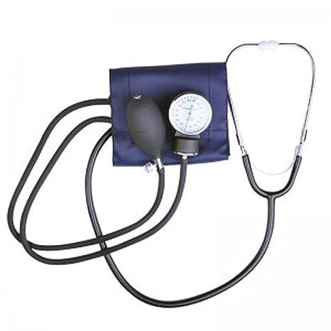 FINLON aneroide profesional de medición de tensión arterial muñeca monitor presión arterial y estetoscopio de precisión
