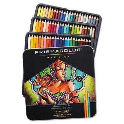 Prisma Color Pencil Set, 72/DZ, Assorted Colors.