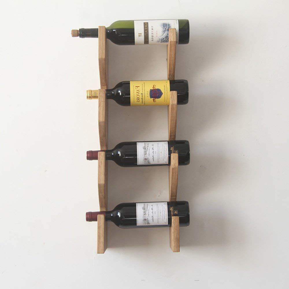 MJK Estante para Botellas de Vino, gabinete para Vino Decorado en la ...