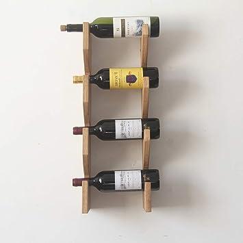 MJK Estante para Botellas de Vino, gabinete para Vino ...