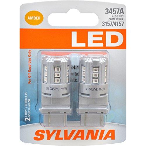 SYLVANIA 3457 Amber Contains Bulbs