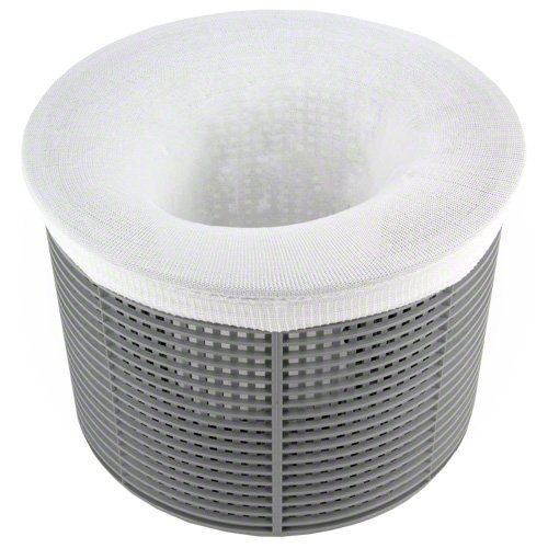 California Home Goods 20-Pack Pool Skimmer Socks, Filter Savers for Baskets and Skimmers, Fine Mesh Screen Sock Liner for Basket Filters
