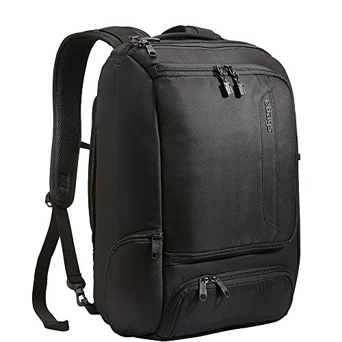 eBags Professional Slim Laptop Backpack (Solid Black) by eBags