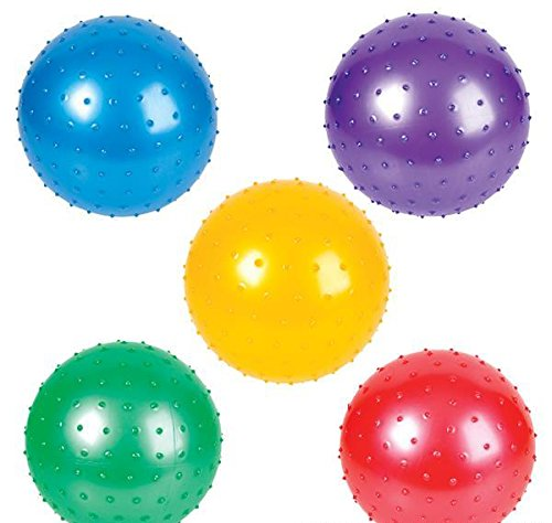 10'' KNOBBY BALL, Case of 3 by DollarItemDirect