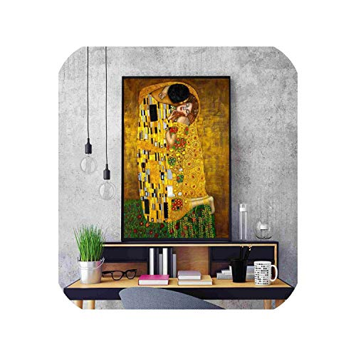 (Abstract Canvas Painting Posters and Prints for Living Room No Framed Wall Art Picture Home Decor,50x75CM No Frame,5)