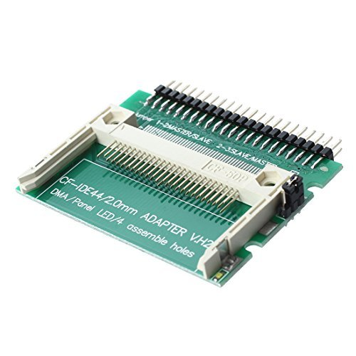 TOOGOO(R) Pin-bare Laptop 44-Pin Male IDE To CF Card Adapter