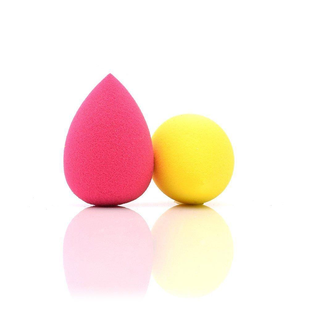Dolovemk 2PCS Makeup Sponge | MICRO MINI Blending Egg 30mm | Expand When Get Wet (Latex-Free)