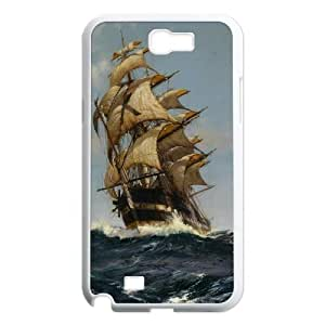 James-Bagg Phone case Tall sailing protective case For Samsung Galaxy Note 2 Case FHYY459616 WANGJING JINDA