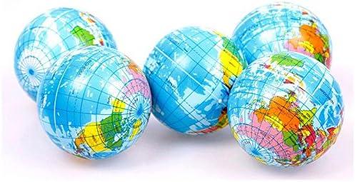 Mundo Atlas Geografía mapa tierra mundo Stress Relief bola de ...
