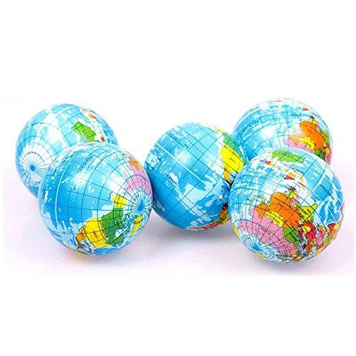 Mundo Atlas Geografía mapa tierra mundo Stress Relief bola ...