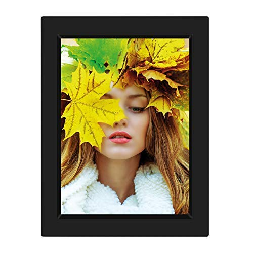 (KWANWA Recordable Photo Frame for 5x7 Picture with 15 Seconds' Better Voice Recording, Black Colour)