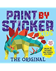 Paint by Sticker Kids, The Original: Create 10 Pictures One Sticker at a Time! (Kids Activity Book, Sticker Art, No Mess Activity, Keep Kids Busy)