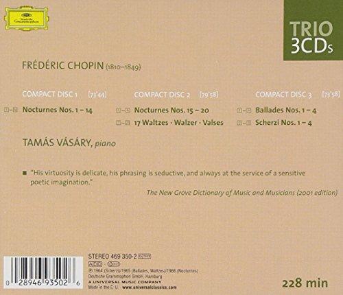 Chopin: Piano Works [Nocturnes - Waltzes - Ballades - Scherzi]