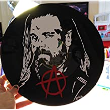 Hand painted Sons of Anarchy Opie Winston vinyl record wall art