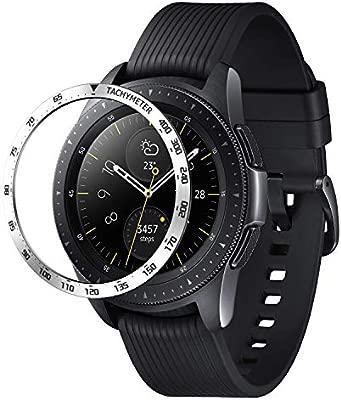 Isabake Bezel Compatible Galaxy Watch 42mm, Gear Sport Bisel ...
