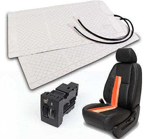 ZMAUTOPARTS Heated Seat Heater Pad Kit +Switch Toyota 4Runner Celica Maxtix Rav4 Yaris Venza (Toyota Seat Heater)