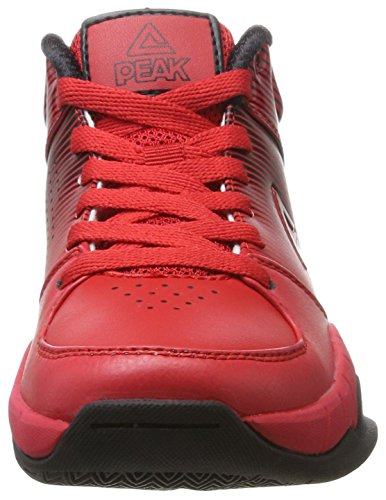 Unisex Kinder Basketballshoe Europe Sport Red Black Weave Peak Rot Basketballschuhe Kids 4qZEcOW