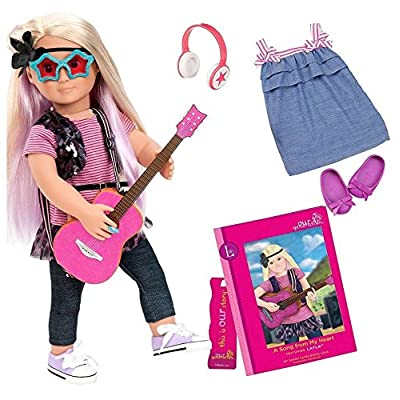 "Our Generation Deluxe Doll - Layla & ""A Song From My Heart"": Toys & Games"
