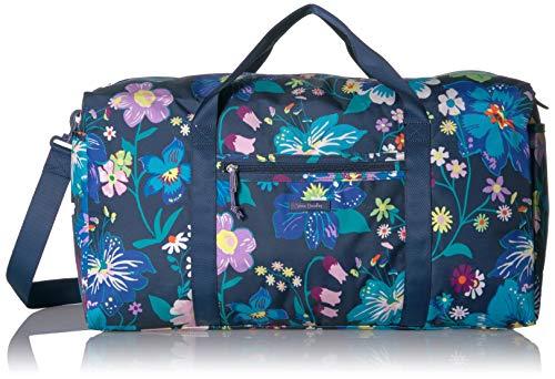 Vera Bradley Lighten Up Large Travel Duffel, Polyester, Firefly Garden -