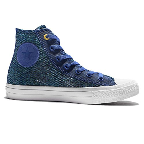 Shoe White Unisex Blue All II Converse Chuck Taylor Star Casual Hi 6qw8vvOUH