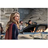 #8: Supergirl Melissa Benoist as Supergirl Waist Up Shot Lips Parted Looking Lovely 8 x 10 Inch Photo