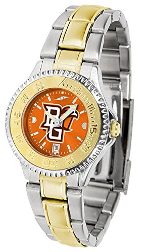 Bowling Green State Falcons Competitor Two-Tone AnoChrome Women's Watch ()