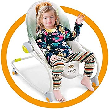 for New Born Baby With Soothing Music Vibrations and Toys 0-3 Years Old Baby Swing Bouncer Chair And Rocking Chair ,green Baby Bouncers Chair