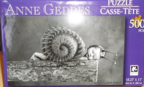 Anne Geddes Jigsaw Puzzle - Baby in Snail Costume - 500 pieces (Jig Saw Costume)