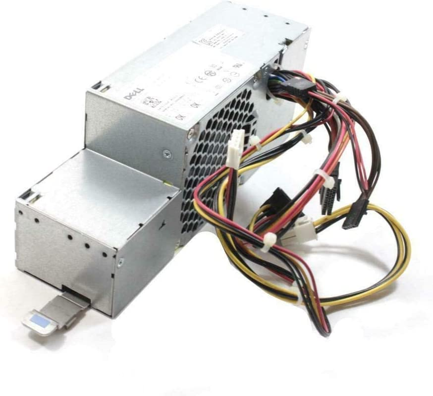 Genuine Dell OEM Optiplex XE SFF Small Form Factor 280 Watt Power Supply PSU Y738P D499R INCLUDES Thermal Heat Sensor N949F, D280ES-00, DPS-280MB A, L280E-01, PS-6281-9DA-RoHS