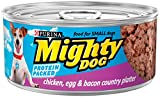 Purina Mighty Dog Wet Dog Food, Chicken, Egg & Bac...
