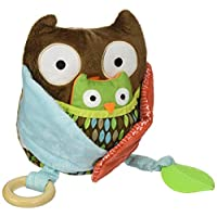 Skip Hop Baby Treetop Friends Hug-and-Hide Wise Owl Activity Toy, Multi