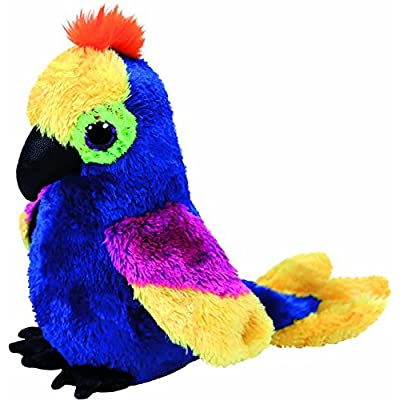 Ty 36885 Wynnie, Parrot 15cm, with Glitter Eyes, Glubschi\'s, Beanie Boo\'s: Toys & Games