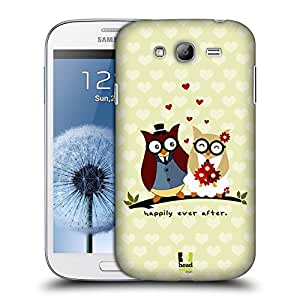 Head Case Designs Ever After Just Married Protective Snap-on Hard Back Case Cover for Samsung Galaxy Grand I9082 I9080