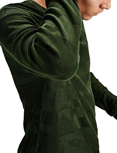 Jack & Jones Herren Oberteile / Pullover jcoCamo Rosin/Knit Fit