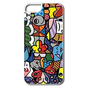 Geek Colorful Art IPhone 5/5s Case For Friend