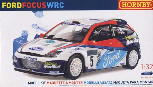 Hornby 1/32 Ford Focus #5 WRC Ford Rallye Sport Plastic Model Kit (K2001A) (Ford Focus Model compare prices)